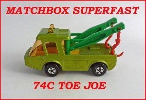 Matchbox Superfast MB74 Toe Joe 74c