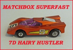 Matchbox Superfast MB7 Hairy Hustler 7d
