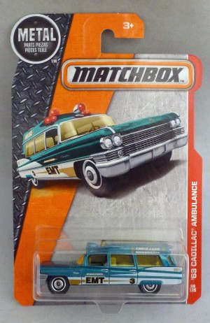 Matchbox MB88 '63 Cadillac Ambulance