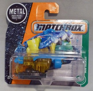 Matchbox MB90 Sub Seeker Short Card
