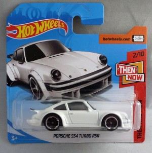 "HotWheels Porsche 934 Turbo RSR White ""Then & Now"" 2/10"
