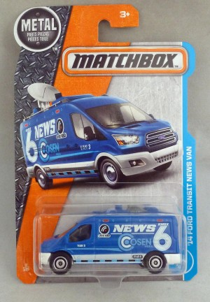 Matchbox MB9 '14 Ford Transit News Van