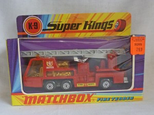 Matchbox SuperKings K-9 Fire Tender