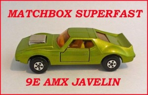 Matchbox Superfast MB9 AMX Javelin 9e
