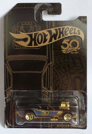 HotWheels 50 Years Rodger Dodger 3/6
