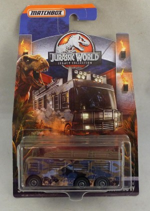 Matchbox Jurassic World Fleetwood Southwind RV 4/6