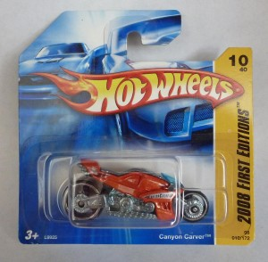 HotWheels Canyon Carver Motorcycle 2008 FE