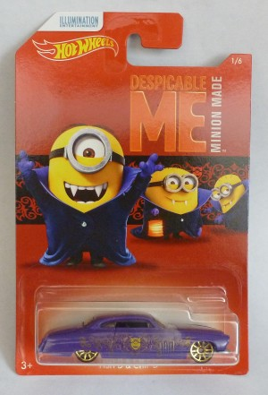 HotWheels Despicable Me Minion Fish'd & Chip'd 1/6