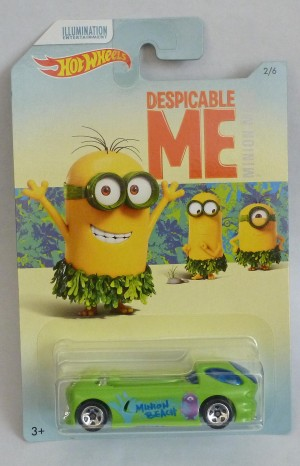HotWheels Despicable Me Minion Deora II 2/6