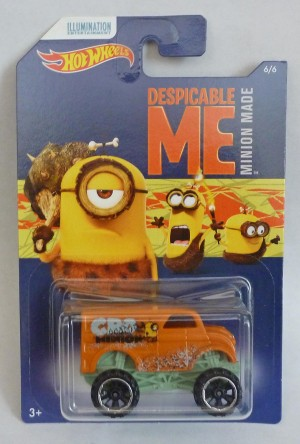 HotWheels Despicable Me Minion Monster Dairy Delivery 6/6
