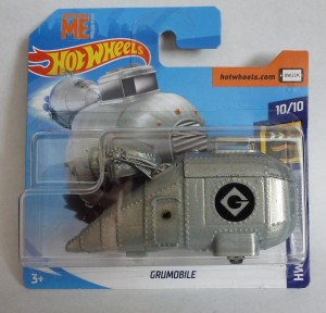 HotWheels Despicable Me Minion Grumobile