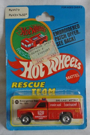 "HotWheels Emergency Squad ""Rescue Team"""