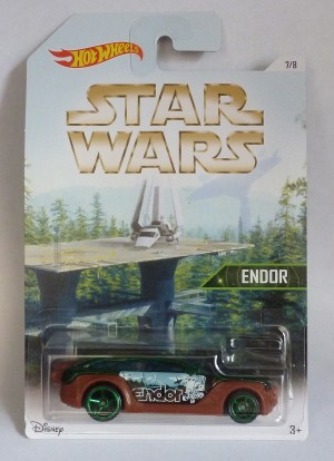 HotWheels Star Wars Endor HW Pursuit 7/8