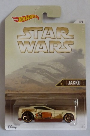 HotWheels Star Wars Jakku Torque Screw 8/8