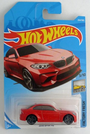HotWheels BMW 2016 M2 Red