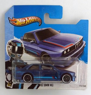 HotWheels '92 BMW M3 Dark Blue