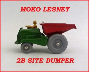 Moko Lesney Matchbox MB2b Site Dumper