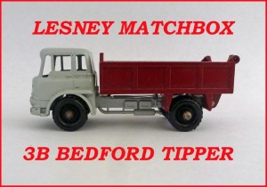 Matchbox Toys MB3b Bedford Tipper