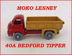 Moko Lesney Matchbox MB40 Bedford Tipper 40a