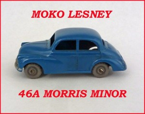 Moko Lesney Matchbox MB46 Morris Minor 46a