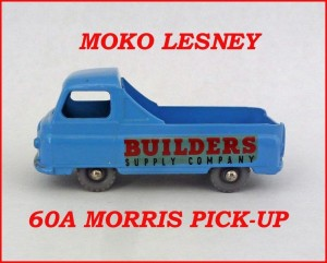 Moko Lesney Matchbox MB60 Morris J2 Pick Up 60a