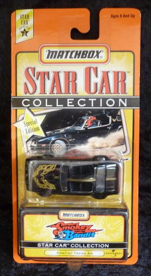 "Matchbox Star Collection ""Smokey & The Bandit"" Pontiac Trans Am"