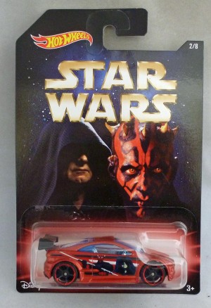 HotWheels Star Wars 2/8 Darth Sidious & Darth Maul Asphalt Assault