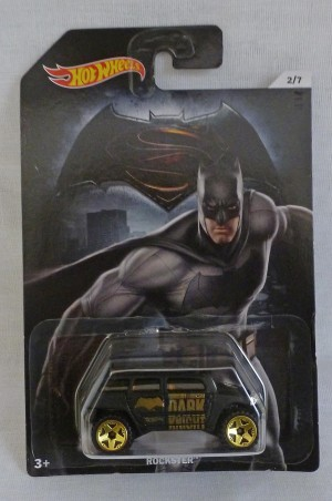 "HotWheels Super Heroes ""Batman"" Dark Knight Rockster 2/7"