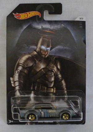 "HotWheels Super Heroes ""Batman"" Mad Manga 3/7"