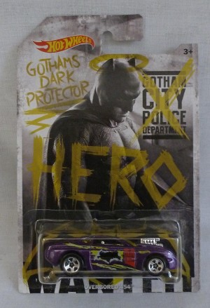 "HotWheels Super Heroes ""Superman"" & ""Batman"" Gothams Dark Protector Overbored 454"