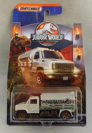 Matchbox Jurassic World Tanker Truck 6/6