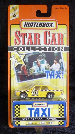 "Matchbox Star Collection ""Taxi"" Sunshine Cab"