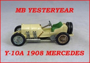 Matchbox Models of Yesteryear Y-10a 1908 Grand Prix Mercedes