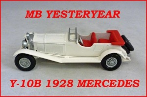 Matchbox Models of Yesteryear Y-10b 1928 Mercedes Benz