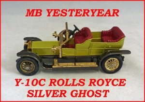 Matchbox Models of Yesteryear Y-10c 1906 Rolls Royce