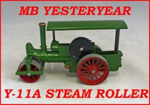 Matchbox Models of Yesteryear Y-11a Aveling & Porter Steam Roller
