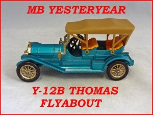 Matchbox Models of Yesteryear Y-12b Thomas Flyabout