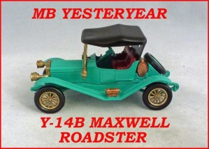 Matchbox Models of Yesteryear Y-14b Maxwell Roadster