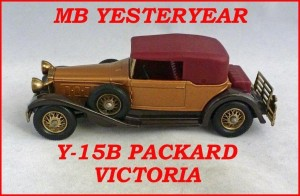 Matchbox Models of Yesteryear Y-15b Packard Victoria