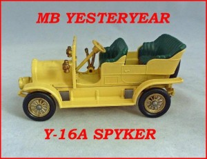 Matchbox Models of Yesteryear Y-16a 1904 Spyker