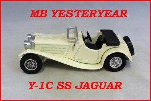 Matchbox Models of Yesteryear Y-1c Jaguar SS-100