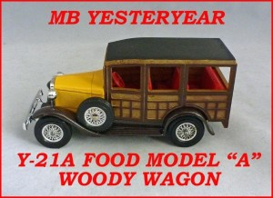 Matchbox Models of Yesteryear Y-21a Ford Woody Wagon