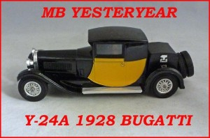 Matchbox Models of Yesteryear Y-24a 1928 Bugatti