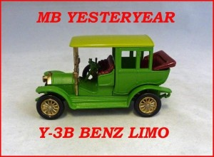 Matchbox Models of Yesteryear Y-3b 1910 Benz Limousine