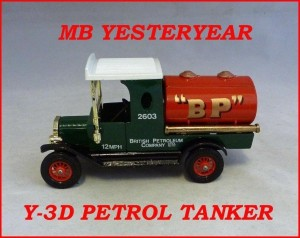 Matchbox Models of Yesteryear Y-3d Ford Model T Tanker