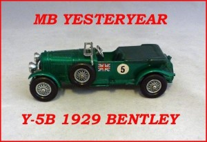 Matchbox Models of Yesteryear Y-5b 4.5 Litre Bentley