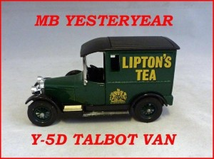 Matchbox Models of Yesteryear Y-5d Talbot Van
