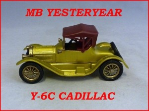 Matchbox Models of Yesteryear Y-6c 1913 Cadillac