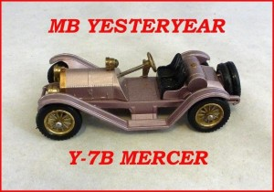 Matchbox Models of Yesteryear Y-7b Mercer Raceabout
