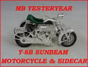 Matchbox Models of Yesteryear Y-8b Sunbeam Motorcycle
